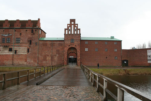 Malmöhus protected by moat