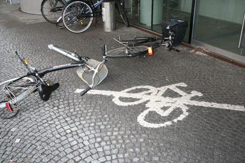 No bike - a good try.