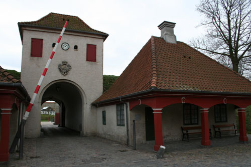 "Entrance to ""Kastellet"", a fort on a stellar island"