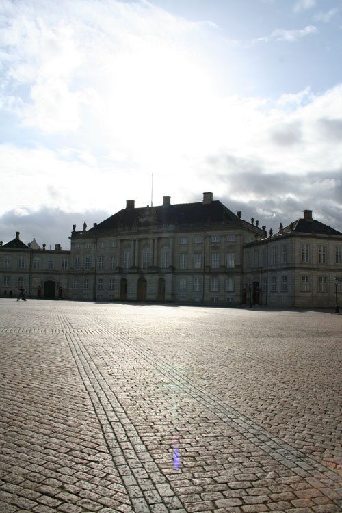 Amalienborg Palace - The winter home of the Danish royal family