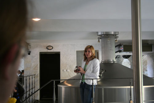 In a brewery