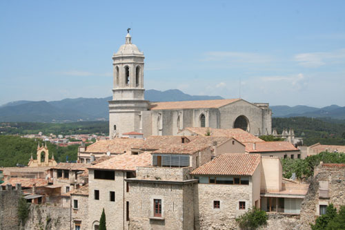 Cathedral of Girona close view