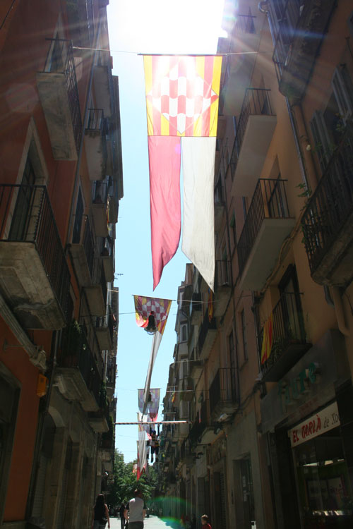 City flag of Girona