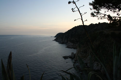 A bay at Tossa de Mar