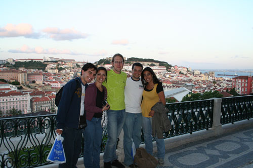 My friends in Lisboa (from Brazil)