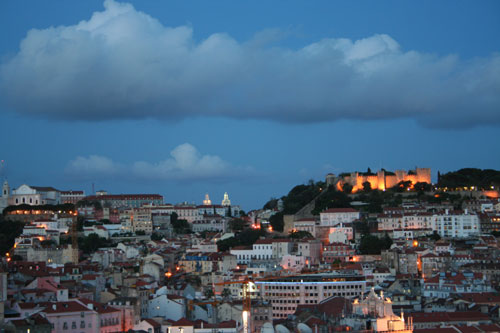 Lisboa at sunset