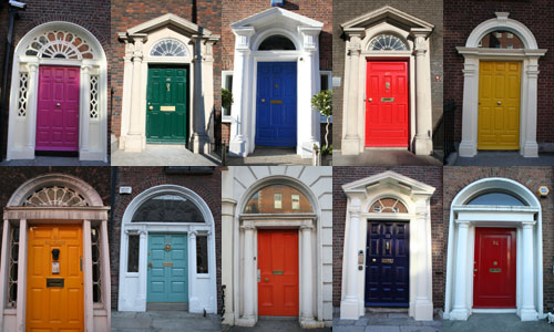 Entrance doors in Dublin