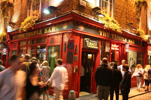 The famous Temple Bar!