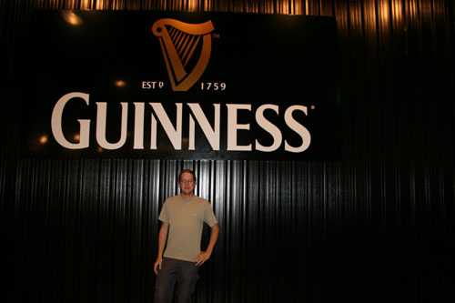 Me at Guinness Store House