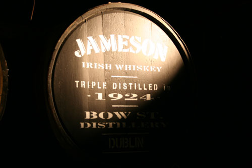 "I visited the Jameson Distillery. Since that, I am now ""Qualified Irish Whiskey Taster""!"