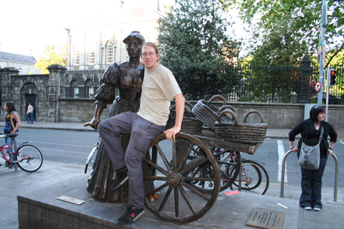Me hugging Molly Malone
