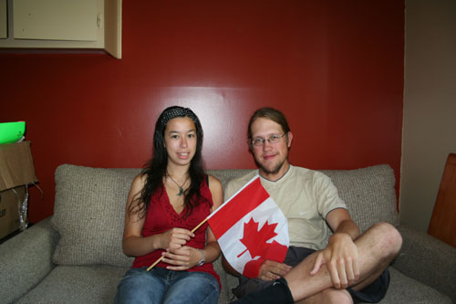 My-Linh hosted me in Quebec-City!