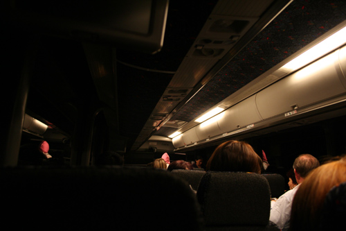 Nightbus from Montreal to Toronto - I spent almost seven hours there...