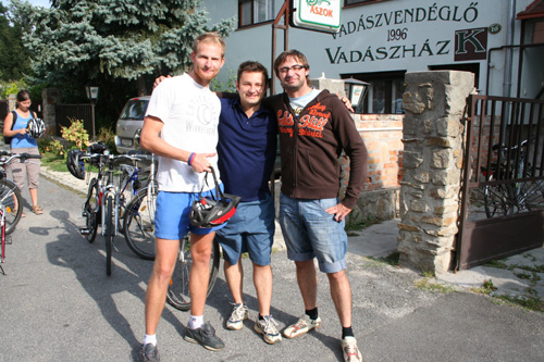 Our friends from Czech Republic: Libor, Petr, Roman