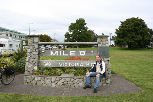 Mile Zero of the Trans Canadian highway