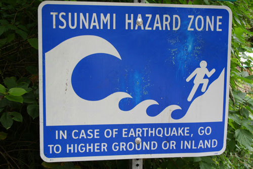... Tsunami Hazard Zone