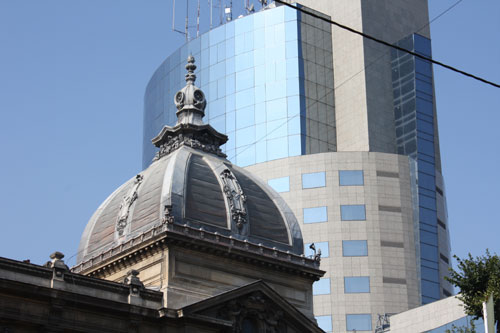 CEC Palace and an office tower