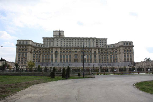 Palace of the Parliament - Europe's largest and the world's second largest building (after the Pentagon)