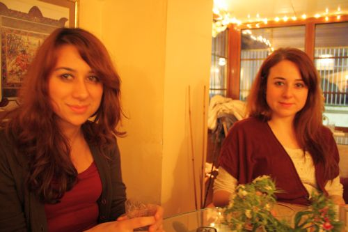 Esra and her sister Ela