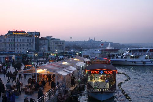 From the Galata Bridge
