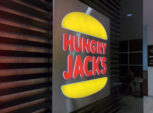 Hungry Jack's - So heißt Burger King in Australien